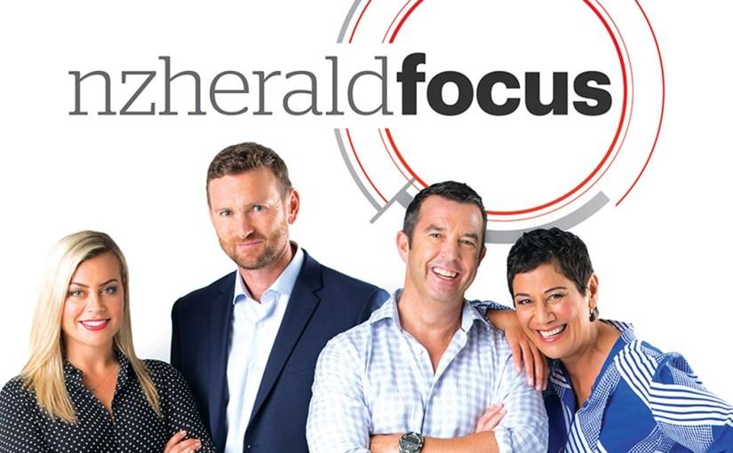 NZ Herald News Show 'Focus' Impresses OnDebut