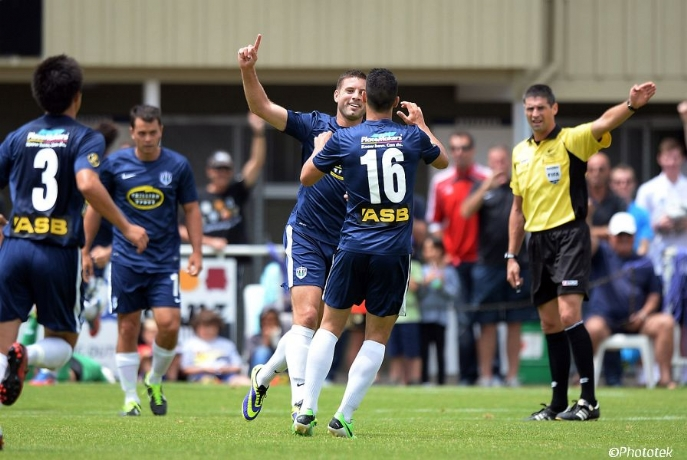 ASB Premiership: Auckland City show class in 2-0 win overWaiBOP