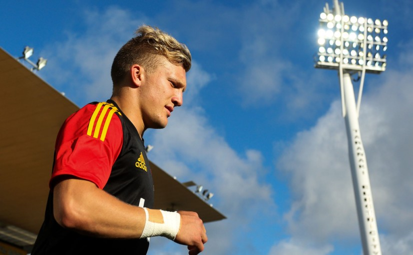 Damian McKenzie fit and ready to smileagain