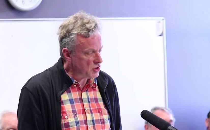 Lee Vandervis stands by ideology towards disabledcandidate