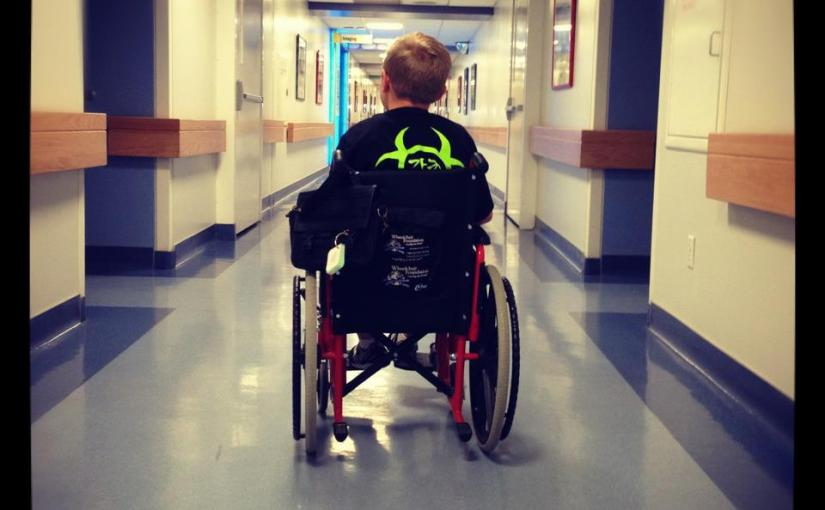 Chronicling intimate details of a child with Muscular Dystrophy onFacebook
