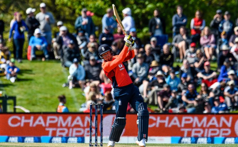 James Vince Guides England To Easy Win To Start NZTour